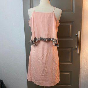 BHLDN pink dress